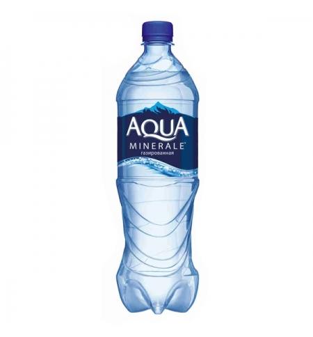 фото: Вода Аква Минерале 1 л газированная, ПЭТ