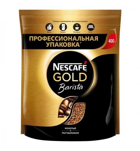 фото: Кофе растворимый Nescafe Gold Barista 400г пакет
