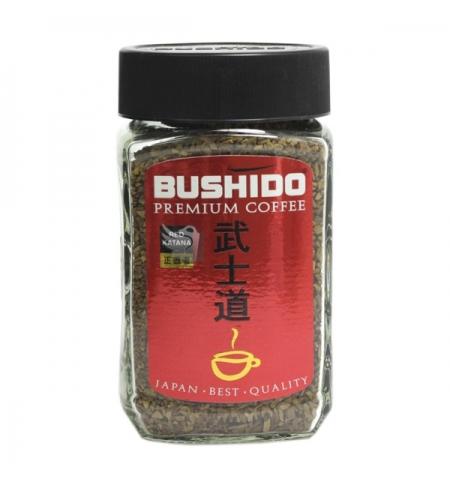 фото: Кофе растворимый Bushido Red Katana 100г стекло