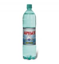 Архыз 1,5 л вода минеральная газированная, ПЭТ