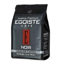 Кофе молотый Egoiste Noir 100г пачка