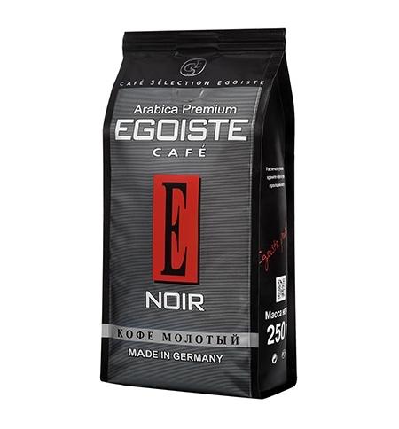 фото: Кофе молотый Egoiste Noir 250г пачка