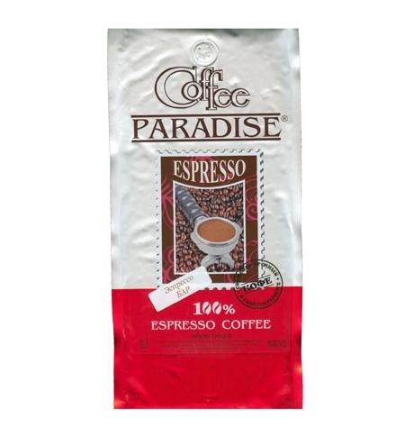 фото: Кофе в зернах Paradise Espresso Bar 1кг пачка