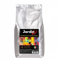 Кофе в зернах Jardin Ciciliano (Барокко Сицилиано) 1кг пачка, для сегмента HoReCa
