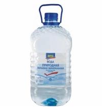 Питьевая вода Aro 5 литров, ПЭТ