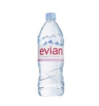 Вода Эвиан 1 литр негазированная, ПЭТ
