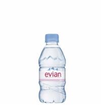 Вода Evian 0.33 л негазированная, ПЭТ