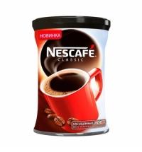 Кофе растворимый Nescafe Classic 100г ж/б