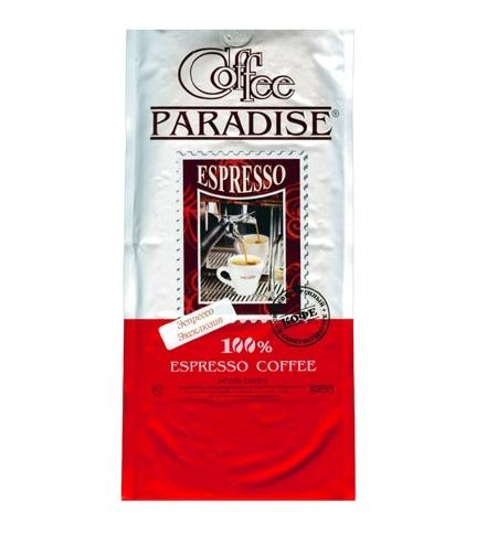 фото: Кофе в зернах Paradise Espresso Эксклюзив 1кг пачка