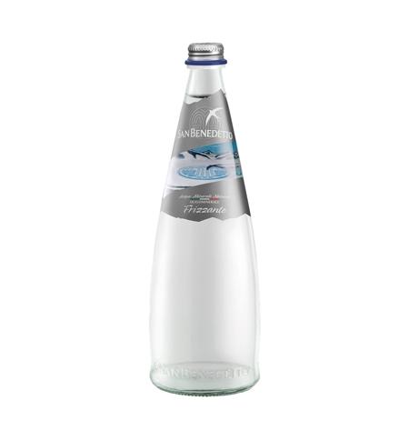 фото: San Benedetto вода 0.75 л, газ, стекло