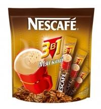Кофе порционный Nescafe Мягкий 3в1 20шт х 16г растворимый, пакет
