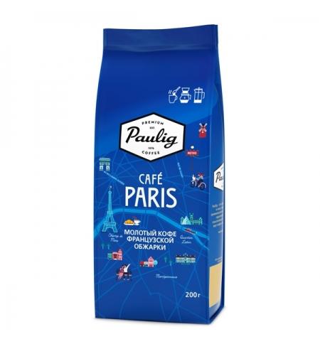 фото: Кофе молотый Paulig Paris 200г пачка