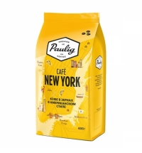 Кофе в зернах Paulig New York 400г пачка