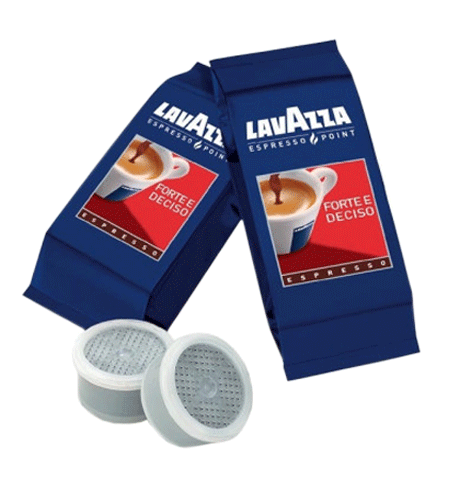 фото: Кофе в капсулах Lavazza Espresso Point Forte e Deciso 100шт