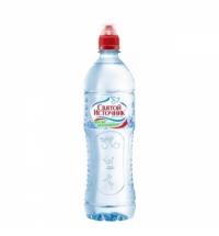 Минеральная вода Святой Источник Спорт негазированная 750мл, ПЭТ