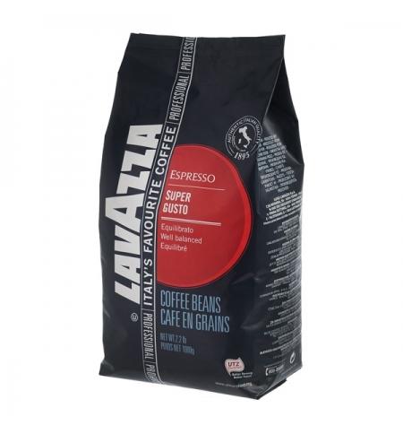 фото: Кофе в зернах Lavazza Super Gusto UTZ 1кг пакет
