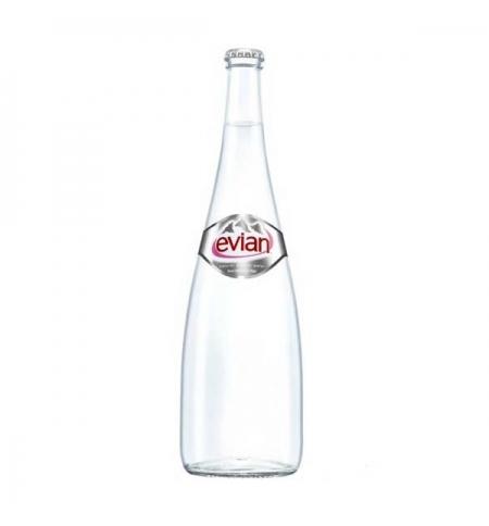 фото: Минеральная вода Эвиан в стекле без газа 0,75 л