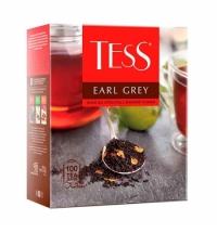 Чай Tess Earl Grey (Эрл Грей) черный, 100 пакетиков