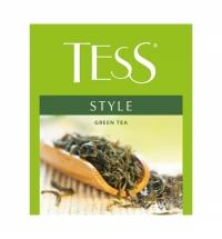 Чай Tess для сегмента HoReCa Style (Стайл) зеленый, 100 пакетиков
