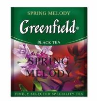 Чай Greenfield Spring Melody (Спринг Мелоди) черный, для HoReCa, 100 пакетиков