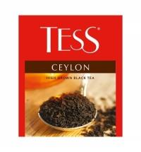 Чай Tess для сегмента HoReCa Ceylon (Цейлон) черный, 100 пакетиков