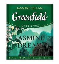 Чай Greenfield Jasmine Dream (Жасмин Дрим) зеленый, для HoReCa, 100 пакетиков