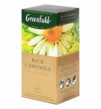 Чай Greenfield Rich Camomile (Рич Камомайл) травяной, 25 пакетиков