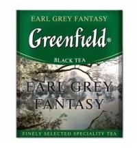 Чай Greenfield Earl Grey Fantasy (Эрл Грей Фэнтази) черный, для HoReCa, 100 пакетиков