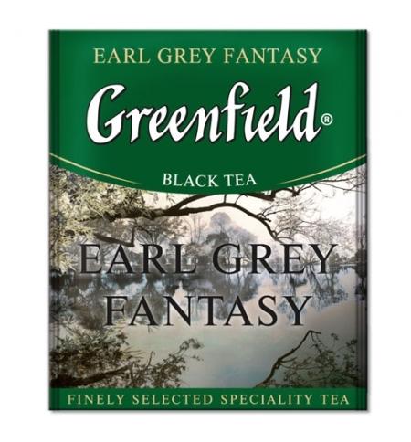 фото: Чай Greenfield Earl Grey Fantasy (Эрл Грей Фэнтази) черный, для HoReCa, 100 пакетиков