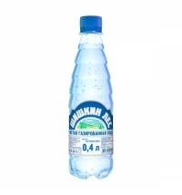 Питьевая вода Шишкин Лес 0,4 л газированная, ПЭТ