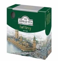 Чай Ahmad Earl Grey (Эрл Грей) 100 пакетиков, черный