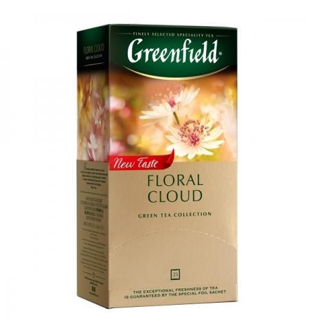 фото: Чай Greenfield Floral Cloud (Флорал клауд) улун, 25 пакетиков