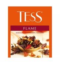 Чай Tess для сегмента HoReCa Flame (Флейм) травяной, 100 пакетиков
