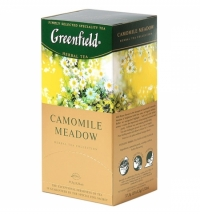 Чай Greenfield Camomile Medow (Камомайл Медоу) травяной, 25 пакетиков