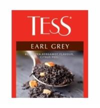 Чай Tess для сегмента HoReCa Earl Grey (Эрл Грей) черный, 100 пакетиков