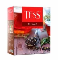 Чай Tess Thyme (Тайм) черный, 100 пакетиков