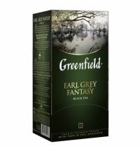 Чай Greenfield Earl Grey Fantasy (Эрл Грей Фэнтази) черный, 25 пакетиков