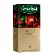 Чай Greenfield Grand Fruit (Гранд Фрут) черный, 25 пакетиков