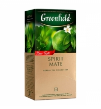 Чай Greenfield Spirit Mate (Спирит Матэ) травяной, 25 пакетиков