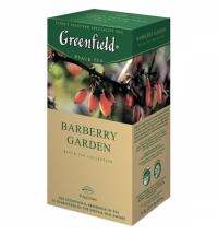 Чай Greenfield Burberry Garden (Барберри Гарден) черный, 25 пакетиков