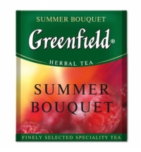Чай Greenfield Summer Bouquet (Самма Букет) травяной, для HoReCa, 100 пакетиков