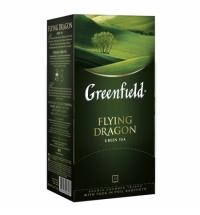 Чай Greenfield Flying Dragon (Флаинг Драгон) зеленый, 25 пакетиков