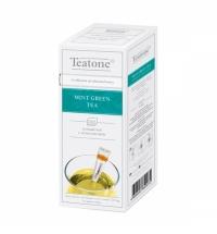Чай Teatone Mint Green Tea зеленый, 15 стиков