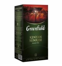 Чай Greenfield Kenyan Sunrise (Кениан Санрайз) черный, 25 пакетиков