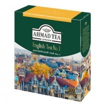 Чай Ahmad English Tea №1 (Английский Чай №1) 100 пакетиков, черный