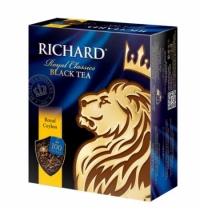 Чай Richard Royal Ceylon черный, 100 пакетиков