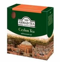 Чай Ahmad Ceylon Tea (Цейлонский Чай) 100 пакетиков, черный