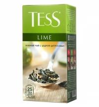 Чай Tess Lime (Лайм) зеленый, 25 пакетиков