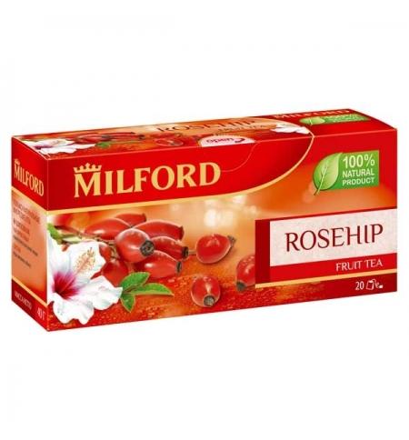 фото: Чай Milford Rosehip 20 пакетиков, фруктовый