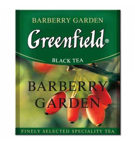фото: Чай Greenfield Burberry Garden (Барберри Гарден) черный, для HoReCa, 100 пакетиков
